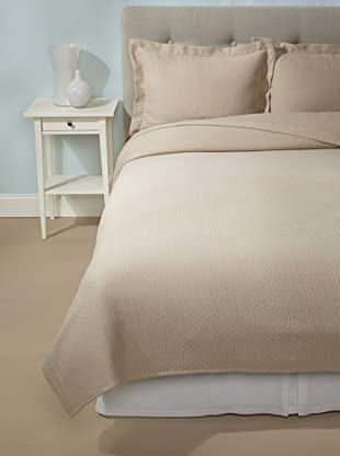 Peacock Alley Coverlet Set (Sand)
