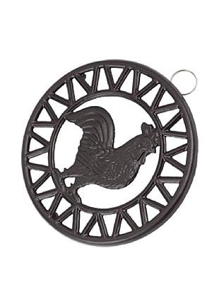 Old Dutch International Rooster Trivet (Matte Black)