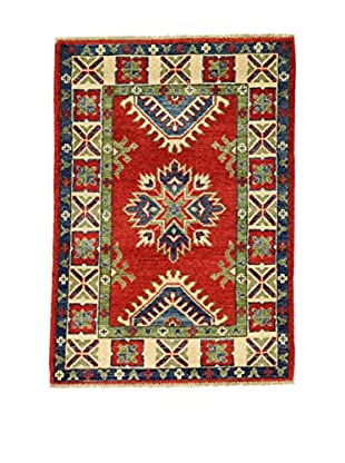 Eden Teppich Uzebekistan Super rot/grün/blau 62 x 89 cm