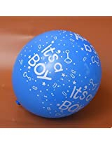 """GrandShop 50327 It's a Boy Printed Balloon Blue Size 12"""" Inch Extra Large (Pack of 30 Pcs)"""