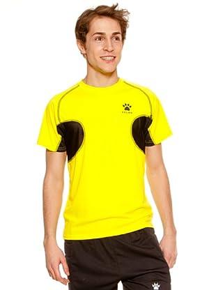 Kelme Camiseta Manga Corta Entreno (Amarillo)