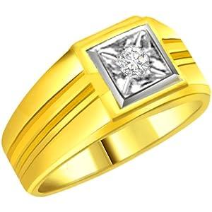 Diamond Gold Men's Ring SDR565
