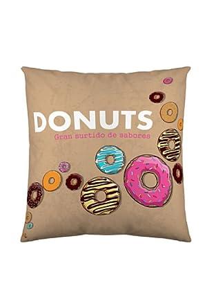 Funda De Cojín Donuts