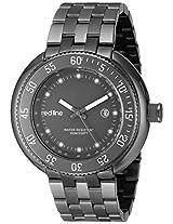 red line Men's RL-50039-GM-104 Driver Analog Display Japanese Quartz Grey Watch