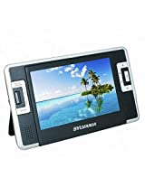 Sylvania SDVD8730 7 Inch Dual Screen Portable DVD/CD/MP3 Player, with USB/SD Card Reader, Car Bag/Kit, AC/DC Adapter