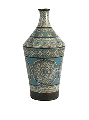 Kabir Large Hand-Painted Vase