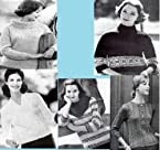 Classic Knitting Patterns for Women's Slipover Sweaters