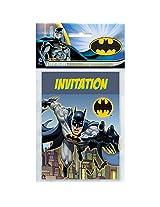 Unique Batman Invitations (8 Count)
