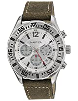 Nautica Chronograph White Dial Men's Watch - NTA17668G