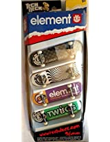 Tech Deck 4 Board Set Element