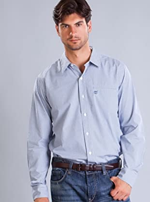 Timberland Camisa Cuadros Mini (Azul / Blanco)