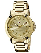 Tommy Hilfiger Analog Gold  Dial Women's Watch - TH1781395J