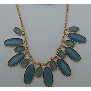 Little Things Cerulean Statement Necklace