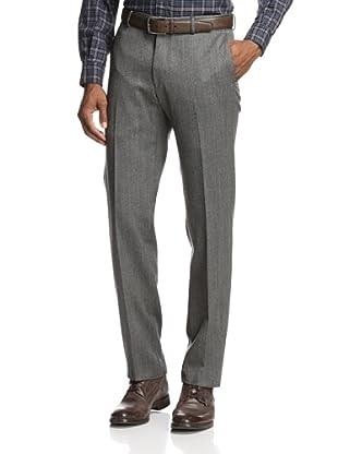 Incotex Ivory Men's Comfort Donegal Trouser (Grey)
