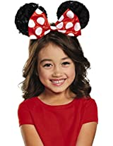Disguise Costumes Red Minnie Sequin Ears, Girls