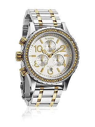 Nixon Uhr mit japanischem Uhrwerk Woman Time Teller  38 mm