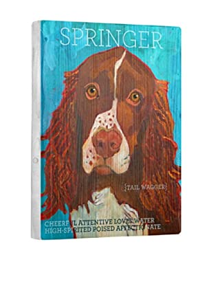 Ursula Dodge Springer Reclaimed Wood Portrait