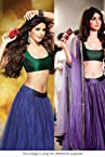 Bollywood Replica Priyanka Chopra Net Lehenga In Blue and Green Colour 1113