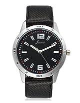 Jainx Strom Analog Black Dial Men's watch-JM113
