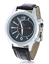 Calvino Men's Black Dial Watch CGAS-151548_blk blk