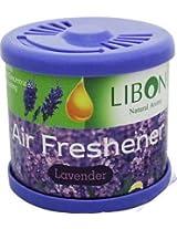 Liboni Natural Aroma Gel Car Perfume & Air Freshener -Lavender Fragrance