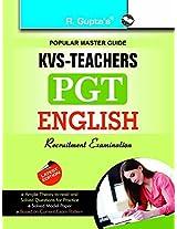 KVS Teachers (PGT) English Recruitment Exam Guide