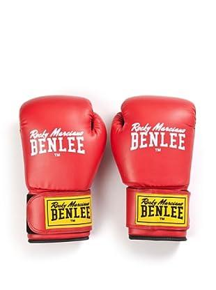Benlee Guantes Pu Training Rodney (Rojo / Negro)