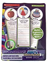 Scholastic Ab Cs Learning Dry Erase Cards