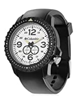 Columbia Black PU Analog Men Watch CA008 060