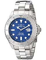 "Invicta Men's 15176SYB ""Pro Diver"" Stainless Steel Watch"