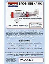 Revell Monogram Bfc2 Goshawk 1930s Usn Fighter/Bomber Limited Edition Kit 1:72 Scale Military Model Kit