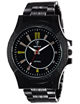 Optima Analog Black Dial M'en's Watch - FT-ANL-2495