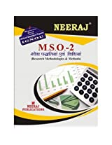 MSO2-Resarch Methods and Methodologies (IGNOU help book for MSO-2 in Hindi Medium)