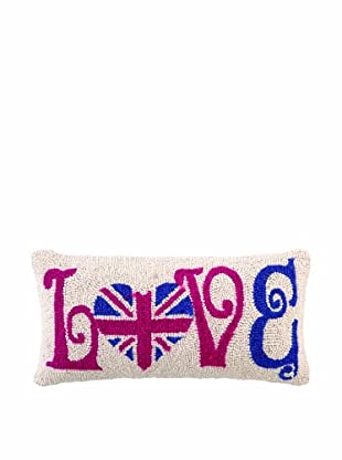 Peking Handicraft England Love Hook Pillow