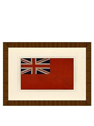 Reproduction of British Navy Ensign Flag Circa WWII Era