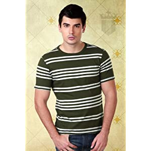 Louis Philippe Cotton Slim Fit Tee