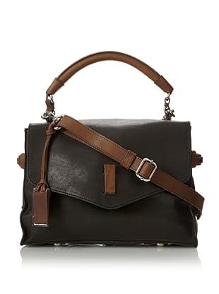 Gryson Women's Ruby Shoulder Bag, Black/Brown