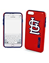 MLB St. Louis Cardinals IPhone 6 Dual Hybrid Case (2 Piece), Red