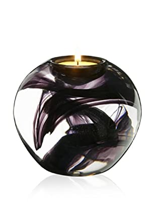 Kosta Boda Cool Moons Votive Black