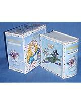 "Paul Cardew ""Alice in Wonderland"" - Savings Book Money Bank"