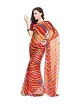Aaditri Fashion Multicolor Saree