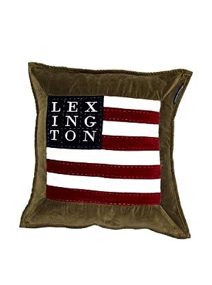 Lexington Company Funda de Cojín Bandera (Verde)