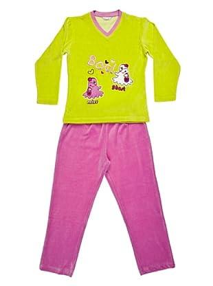 Bkb Pijama Niña (pistacho)