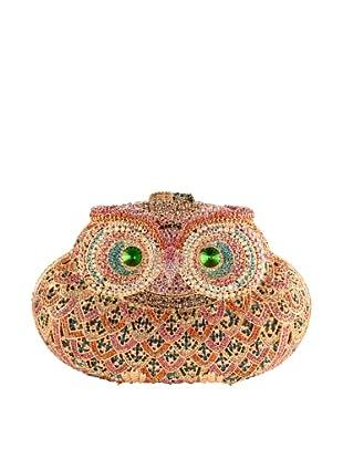 Ciel Collectables Bejeweled Owl Handbag (Topaz/Multi Stone)