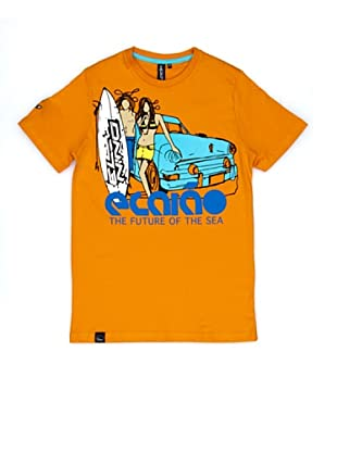 El Niño Camiseta Manga Corta The Future (naranja)