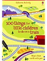 100 Things for Little Children to Do on a Train (Activity Cards)