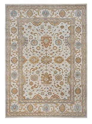 eCarpet Gallery Royal Ushak Rug, Cream, 9' x 13'
