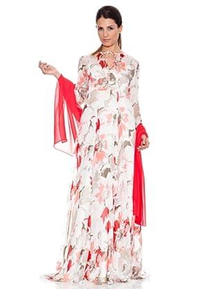 Caramelo Vestido (Crudo / Rojo)