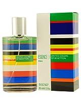 United Colors of Benetton Essence of Man Eau De Toilette Spray for Men, 100ml