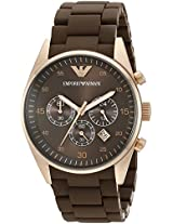 Emporio Armani Men's AR5890 Brown Sport Chronograph Watch
